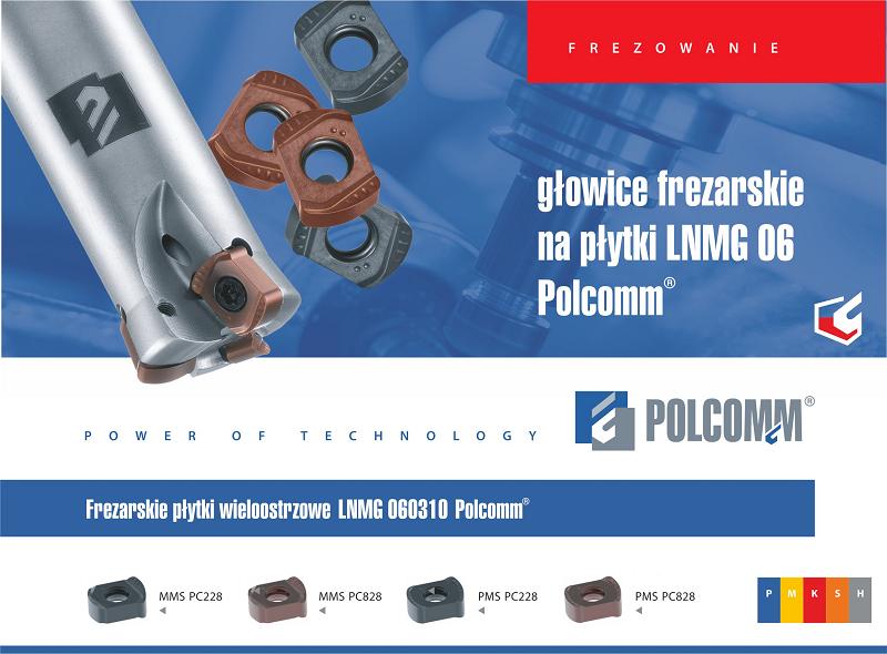 Głowica frezarska LNMG 06